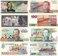 Luxembourgske francs